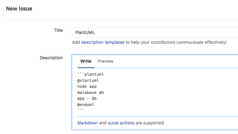 Markdown native diagrams with PlantUML | Andreas' Blog