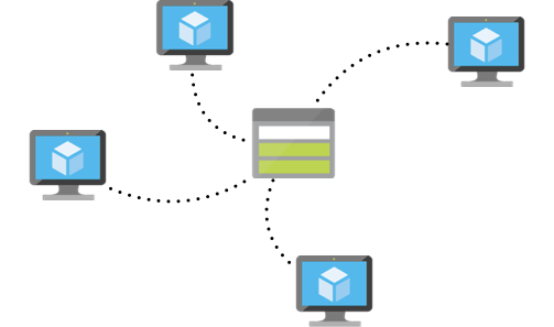 Multiple VMs accessing a shared storage